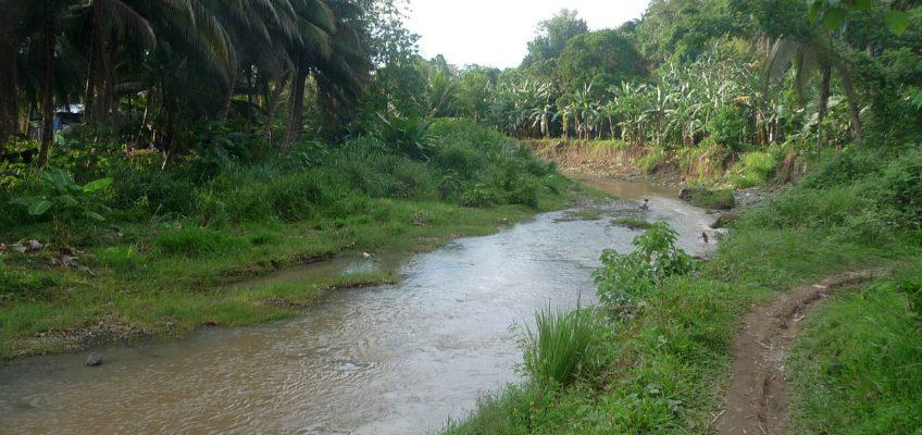 PHILIPPINEN REISEN BLOG - Dorfansichten am Fluss Foto: Sir Dieter Sokoll KR