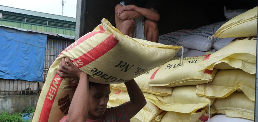 Arbeiter in den Philippinen