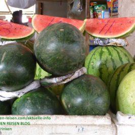 PHILIPPINEN BLOG - Frisches Obst überall an Obstständen Foto: Sir Dieter Sokoll KR