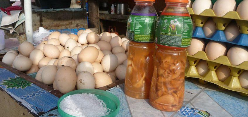 PHILIPPINEN BLOG - Balut im Straßenverkauf Foto: Sir Dieter Sokoll KR
