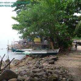 PHILIPPINEN BLOG - Im idyllischen Fischerdorf Foto: Sir Dieter Sokoll KR
