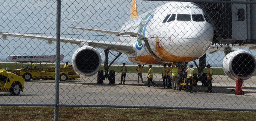 Ankunft am Laguindingan International Airport für Cagayan de Oro