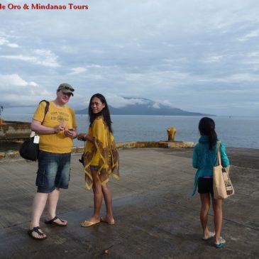 Zweiter Tag: Fahrt zur Insel Camiguin