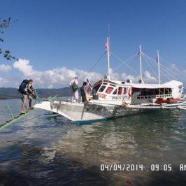 Schneller Fährdientst zwischen Coron und El Nido über Linapacan