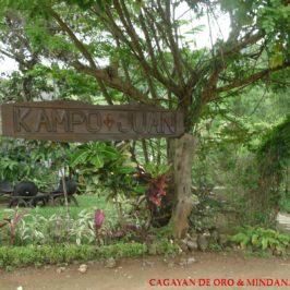 Philippinen Reisen Blog - Abenteuer in der Natur in Kampo Juan Foto: Dieter Sokoll