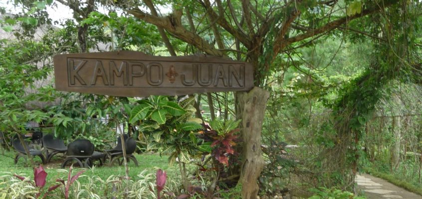 Vierter Tag: Eco-Park Kampo Juan in Manolo Fortich, Bukidnon