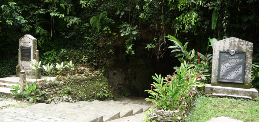 In der Makahambus Höhle in Cagayan de Oro