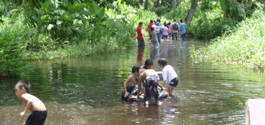 Wir waren bei den Badiangon Quellen in Gingoog