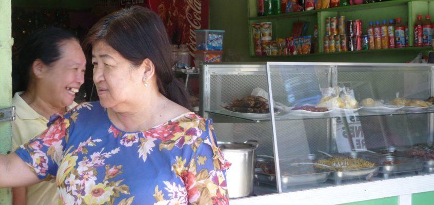 Ein Gespräch mit einer Einheimischen in Talakag