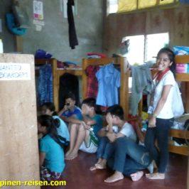 Studentenwohnheim in den Philippinen