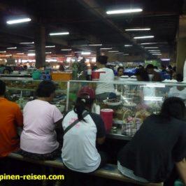 Philippinen - Essstände auf dem Markt