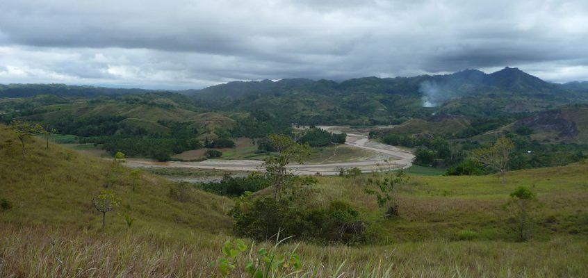 Unterwegs in den ländlichen Barangays der Stadt