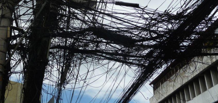 Versorgungsbetriebe und ihre Kabel