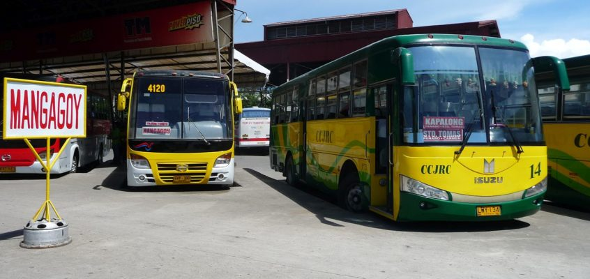 Busfahren in den Philippinen
