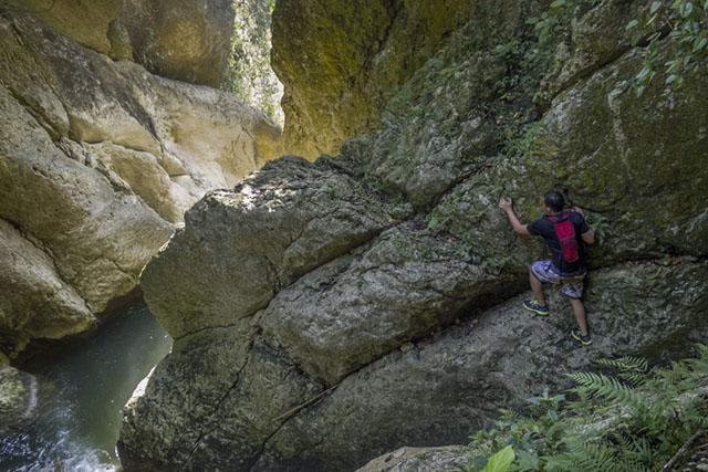 Auf der Suche nach den 'Gollum Wasserfällen'