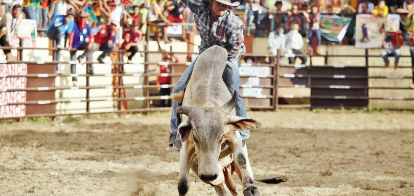 Wild West beim Rodeo Masbateno