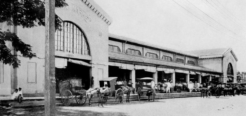 HISTORISCHES – Restauration des Paco Marktes