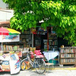 PHILIPPINEN REISEN BLOG - Mang Nanies Bücherei freie Bücherei in Makati