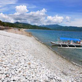 PHILIPPINEN REISEN BLOG - Am Kieselstrand von Mabua in der Stadt Surigao