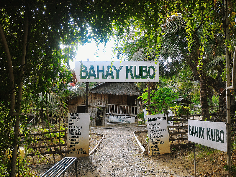 Eco-Farming im Bahay Kubo Song Resort in San Joaquin