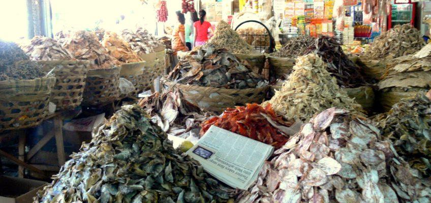 PHILIPPINEN REISEN BLOG - Danggit vom Tabo-an Markt