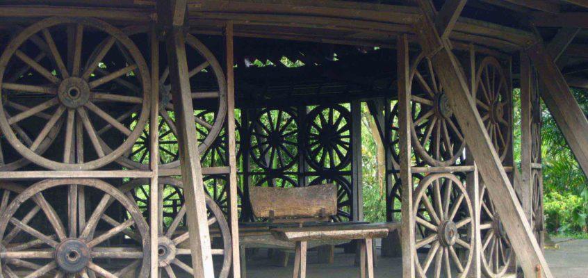KULTURERBE: Kapelle der Wagenräder
