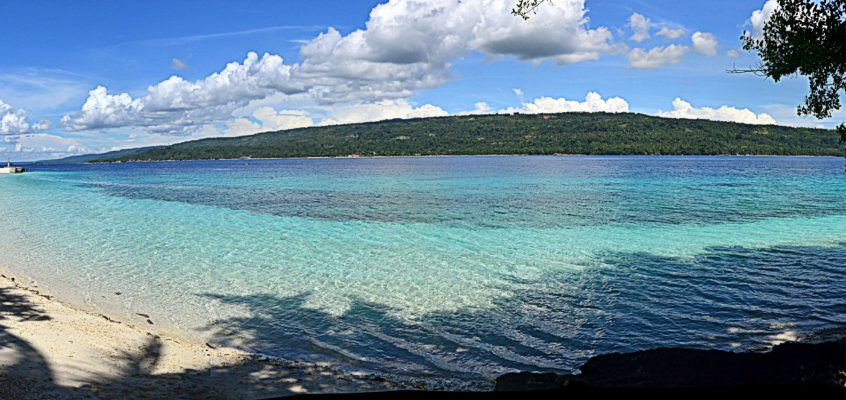 Das rustikale Resort Isla Reta auf der Insel Talicud