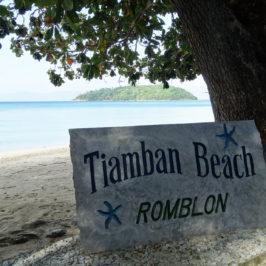 PHILIPPINEN REISEN BLOG - Der Tiamban Strand in Romblon