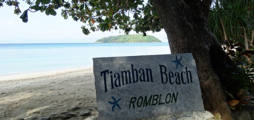 STRÄNDE: Der Tiamban Strand in Romblon