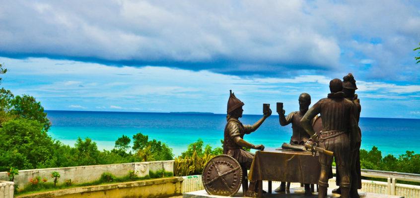 """Die Feier zum """"Freundschaftspakt"""" in Bohol"""