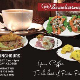 PHILIPPINEN REISEN BLOG - Sweetcorner Cafe in Puerto Princesa, Palawan