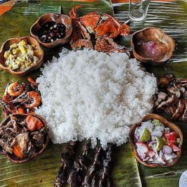 PHILIPPINEN REISEN BLOG - ESSEN & TRINKEN - Boodle Fight