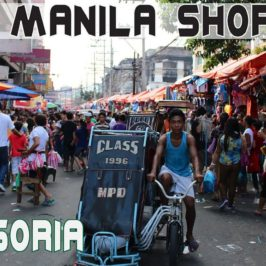 PHILIPPINEN REISEN BLOG - Shopping in Divisoria Manila