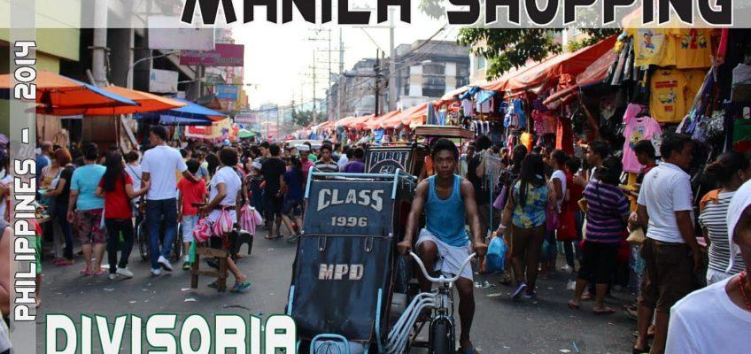 PHILIPPINEN REISEN BLOG - Shopping in Divisoria Manila