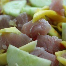 PHILIPPINEN REISEN BLOG - Tuna na Kinilaw