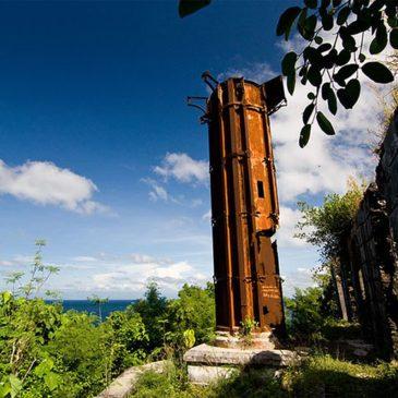Der Guisi Leuchtturm auf der Insel Guimaras