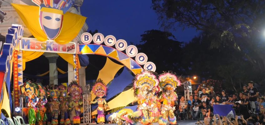 Das Masskara Festival in Bacolod