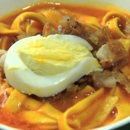 Philippinen Reisen Blog: Miki Suppe in Abra