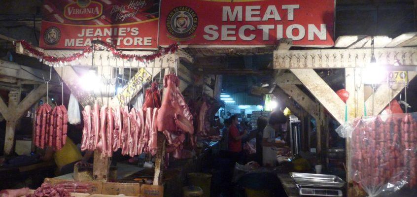 Besuch auf dem Cogon Markt