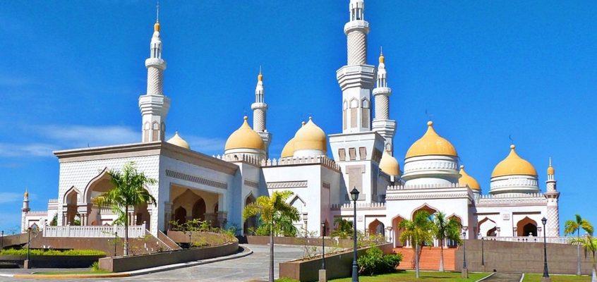 Die Große Goldene Moschee von Cotabato
