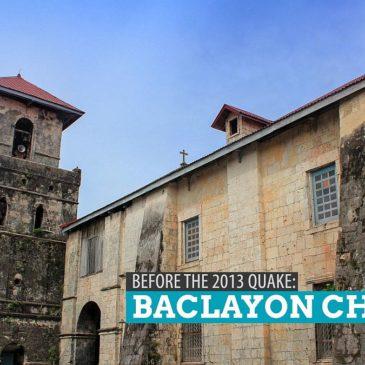 Die Baclayon Kirche