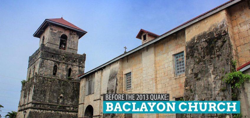 PHILIPPINEN REISEN BLOG - Die Baclayon Kirche