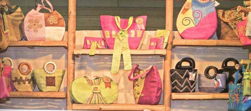 Abaca aus Aklan – Taschen und noch mehr