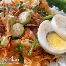 PHILIPPINEN REISEN BLOG - Essen - Pancit Marilao