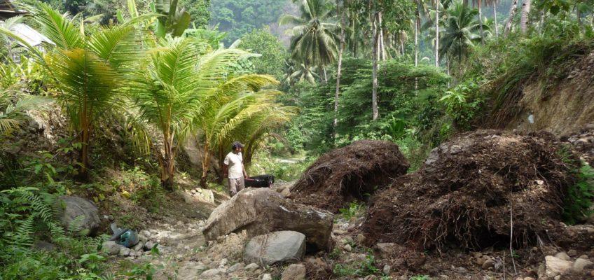 PHILIPPINEN REISEN BLOG - Weg zum F. S. Catanico Wasserfall Foto: Dieter Sokoll