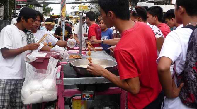 Zeit für Streetfood in der Stadt