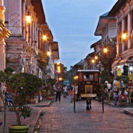 PHILIPPINEN REISEN BLOG - Besuch in der Stadt Vigan