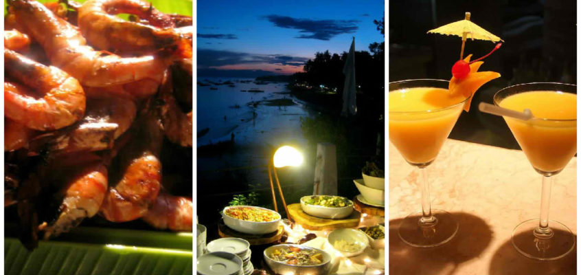 Strandbuffets in Bohol