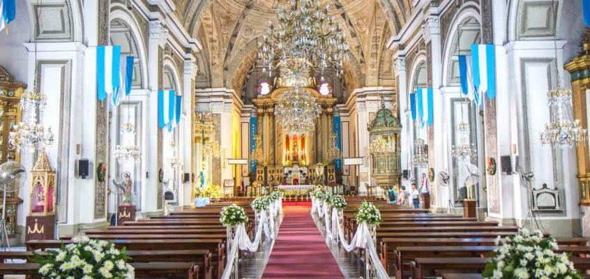 Die San Agustin Kirche in Manila