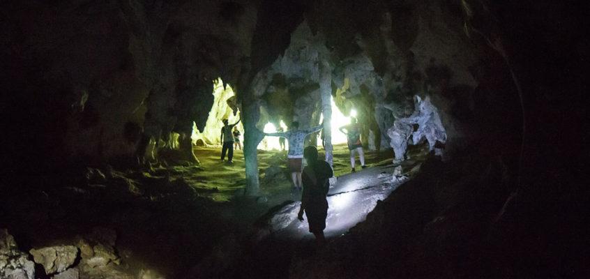 Die Tabon Höhlen von Palawan